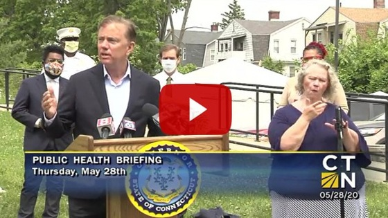 Governor Lamont provides update on Connecticut's coronavirus response efforts