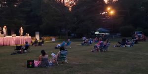 Outdoor concert extended at Curtain Call