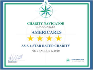 Americares Earns Highest Charity Navigator Rating