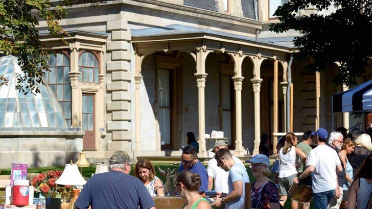 The Lockwood-Mathews Mansion Museum's Old-fashioned Flea Market to return to Mathews Park