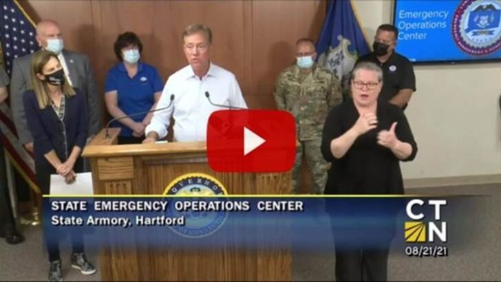 Connecticut Governor Lamont provides update on the preparations in advance of Hurricane Henri