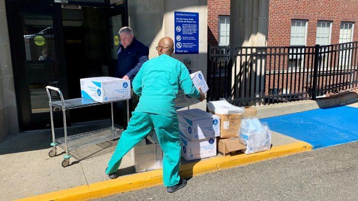 Housatonic Community College Donates Critical Medical Supplies  To Hospital Fighting Coronavirus