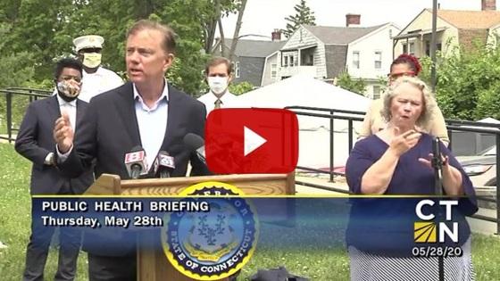 Governor Lamont provides update on Connecticut's coronavirus response efforts