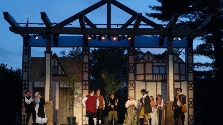 Shakespeare returns to Stamford for two weekends