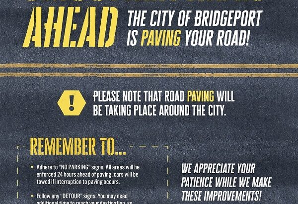 Bridgeport Mayor Ganim and City of Bridgeport Provide Update on Estimated $18 Million City Milling and Paving Improvement Projects