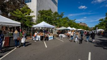 Stamford Downtown hosts second Arts & Crafts on Bedford on October 17