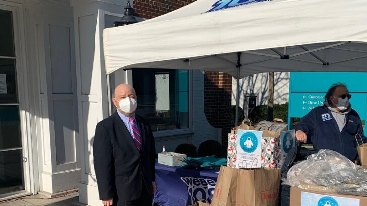 First County Bank and WEBE108 Warms Up Those in Need