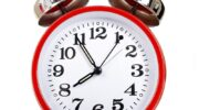 Don't forget to move the clocks one hour forward tonight